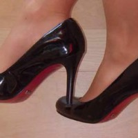 Buffalo-Lack-Schuhe