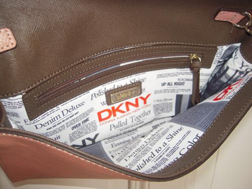 DKNY Tasche innen