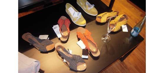 Mango-Leder-Schuhe