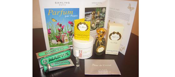 Das zweite Päckchen vom Parfumclub Sahling