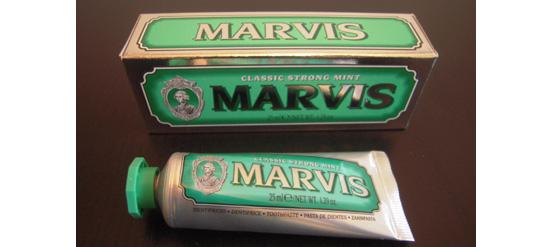 Zahnpasta von MARVIS