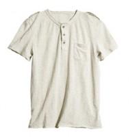 Knopfleisten-Shirt H&M