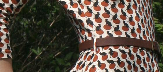 Katzenkleid von Mango Detail