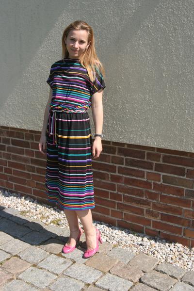 Mein Vintage Streifenkleid
