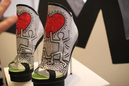 Keith Haring by Nicholas Kirkwood