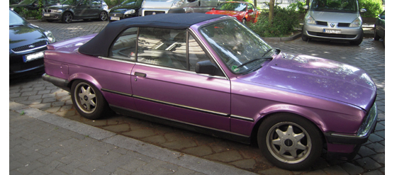 BMW Lila