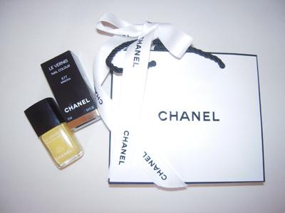 Chanel Nagellack Mimosa