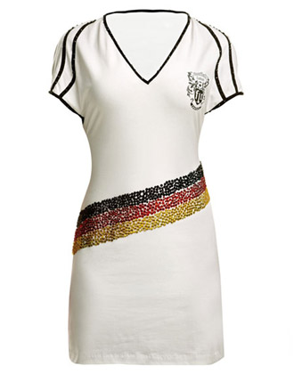 High Class Kleid Football loves Couture