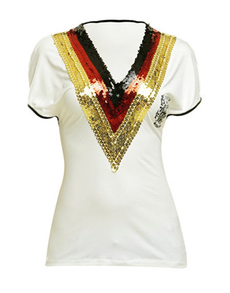T-Shirt Luxury Football loves Couture