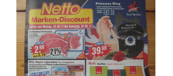 Kates Verlobungsring bei Netto