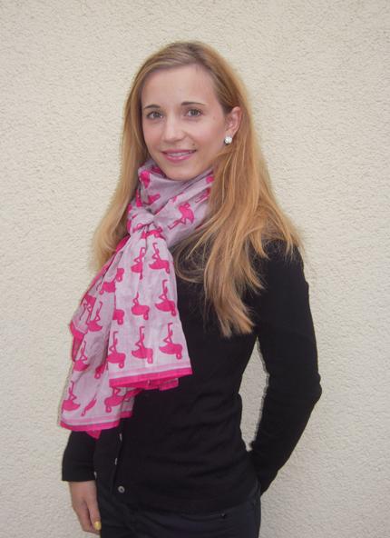 Mein ivi Flamingo-Schal
