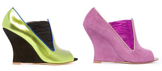 Schuhe der Designerin Joanne Stoker