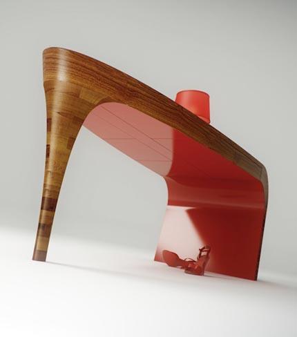 Stiletto Tisch by Splinter Works