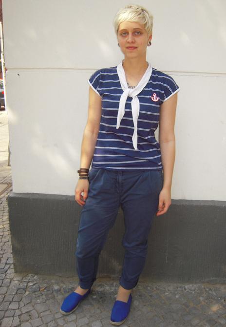 Streetstyle Sailor-Look