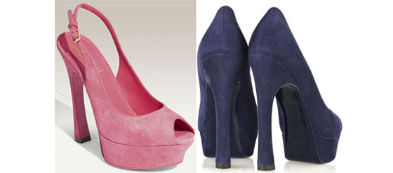 YSL Peep-toe Pumps
