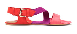 Colour Blocking Sandale von ZARA