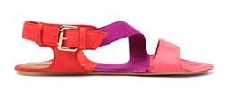 Colour Blocking Sandale von ZARA
