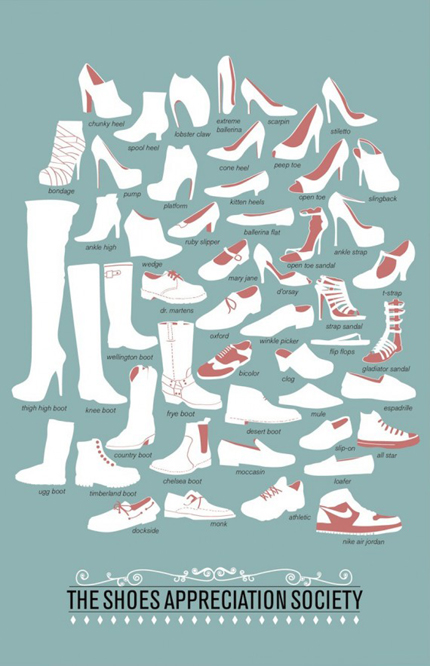 The Shoe Appreciation Society von Niege Borges