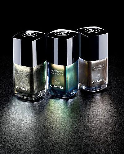 Chanel Craving Nagellacke Peridot, Graphite & Quartz ...