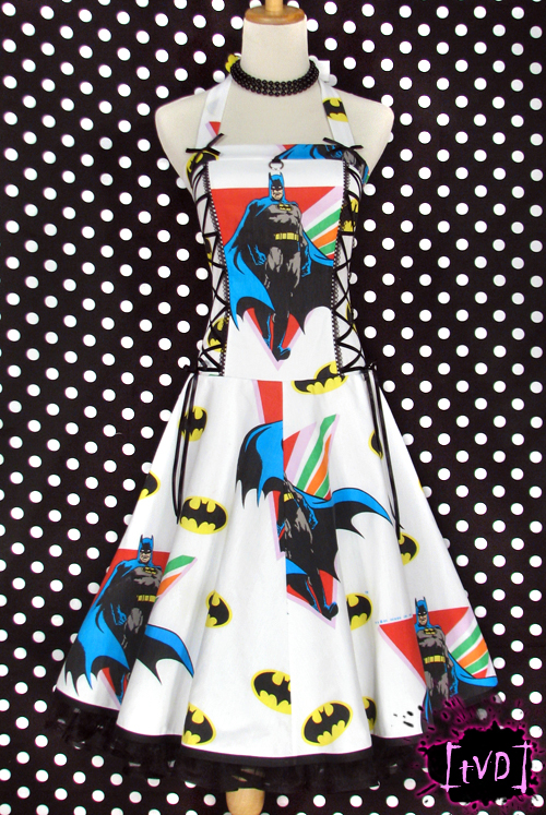 BATMAN VINTAGE DRESS 1