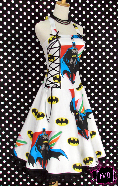 BATMAN VINTAGE DRESS 2