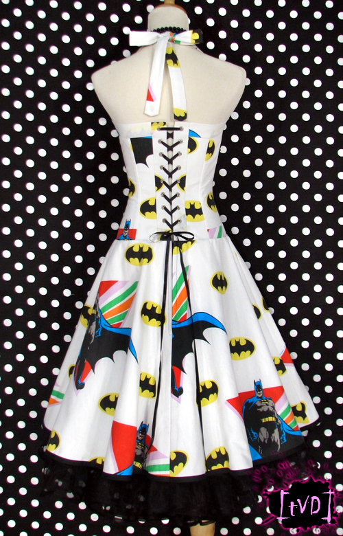 BATMAN VINTAGE DRESS 3