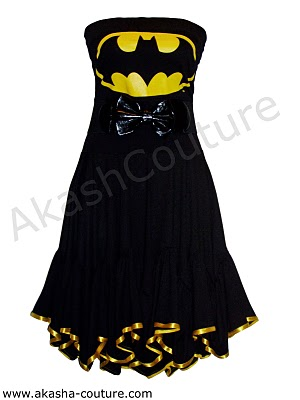 Batman Dress von Akasha-Couture