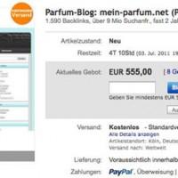 Blog zu verkaufen