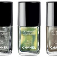 Chanel Craving Nagellacke Peridot Graphite Quartz