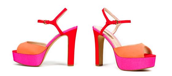 Colour-Blocking Schuh Zara