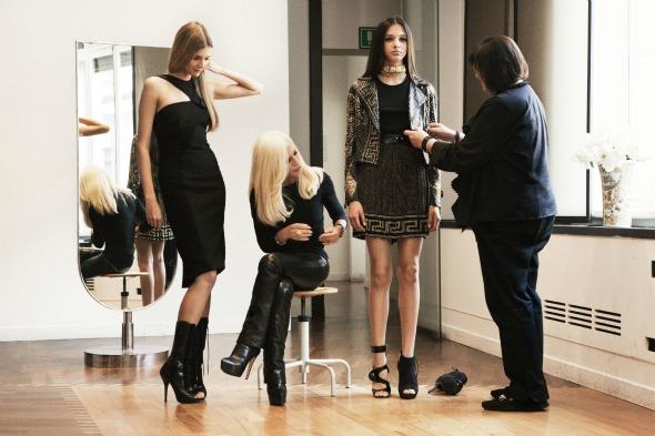 H&M in Kooperation mit Donatella Versace