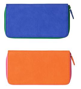 farbige Brieftaschen von Zara