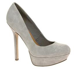 graue Schuhe Pumps von ASOS