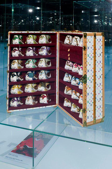 Koffer Ausstellung von Louis Vuitton