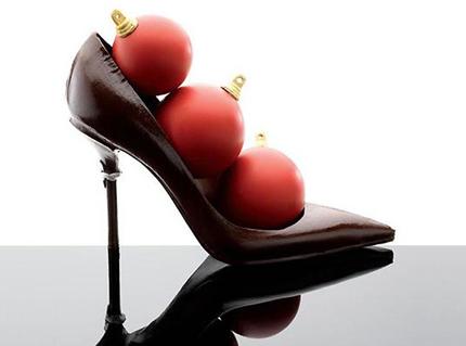 Stiletto aus Schokolade Jean Paul Hévin