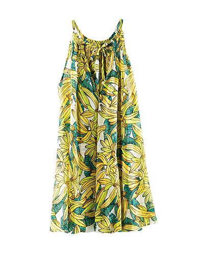 Strandkleid mit Bananen von H&M