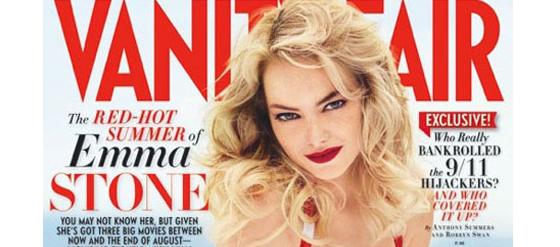 Vanity Fair Cover Emma Stone