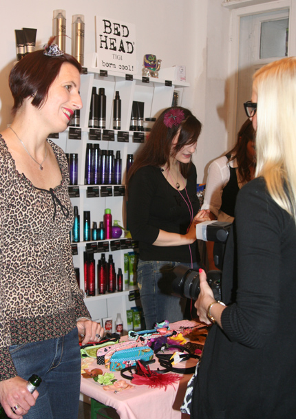 Accessoiresverkauf bei Hair Colada