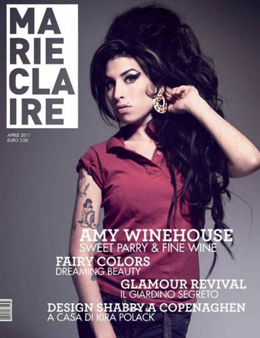 Marie Claire Italy April 2011 Amy Winehouse