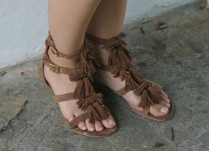 Meine ASOS Sandalen