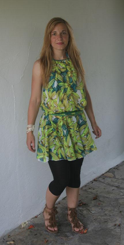 Bananenkleid von H&M