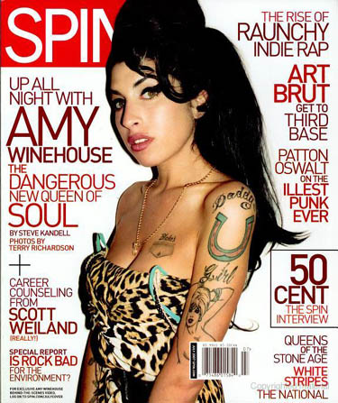 SPIN Cover 2007 Amy Winehouse