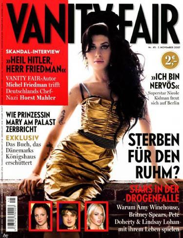 Vanity Fair Germany November 2007 Amy Winehouse
