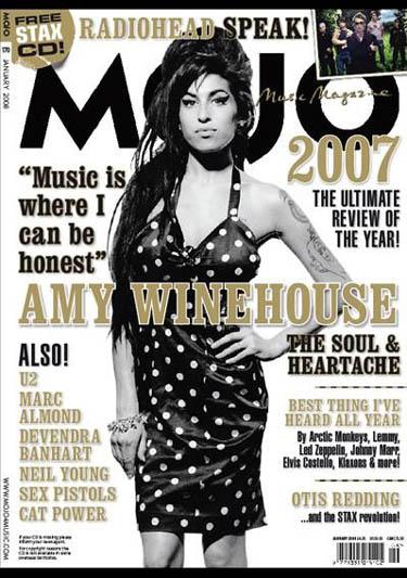 Mojo Magazine United Kingdom Januar 2008 Amy Winehouse