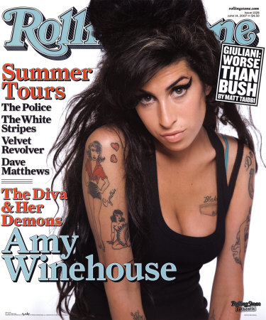 Cover Rolling Stone Mai 2007 mit Amy Winehouse