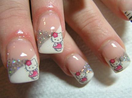 Hello Kitty Fingernägel