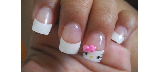 Hello Kitty Nägel