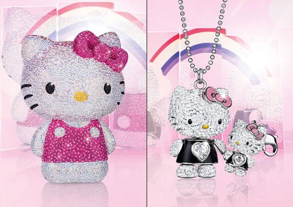 Hello Kitty und Swarovski