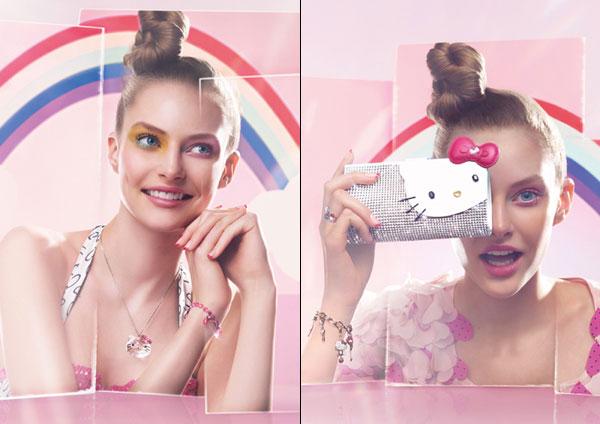 Kollektion Hello Kitty und Swarovski