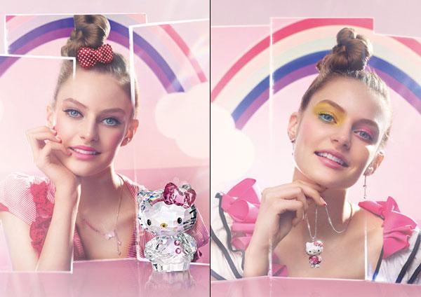 erste Hello Kitty Swarovski Kollektion